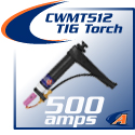 500 Amp Water-Cooled Torch & Accessories