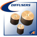 Gas Diffusers, For Purge Baffle Kits