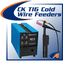 CK Worldwide TIG Cold Wire Feeders & Torches