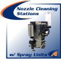 Nozzle Cleaning Stations with Spray Units