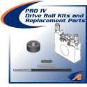 PRO IV Drive Roll Kits & Replacement Parts