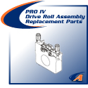 PRO IV Drive Roll Assembly Replacement Parts
