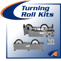Turning Rolls, Light, Medium & Heavy-Duty