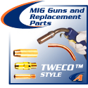 TWECO® MIG Guns and Replacement Parts
