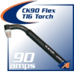 Flexible Torch Pkg, W/Gas Valve, 25' One-Piece SuperFlex Cable