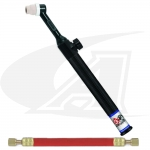 Low Profile Rigid Head, Air-Cooled 80Amp One-Piece Cable w/Valve