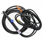 Low-Profile Flex-Head, Air-Cooled 90A W/ Valve & 2-Piece Cable