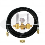 Smith® Dual Flowmeter/Regulator w/ Purge Gas Hose Kit