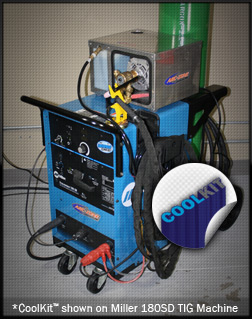 Arc-Zone.com Cool Kit(TM) Complete PRO TIG Torch Package and Welding Water Cooler