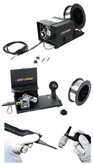 semi automatic tig cold wire feeders and accessories arc zone