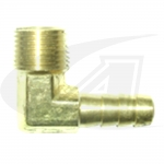 "Click to see larger version of 3/8"" x 3/8\"" Hose Barb Elbow"