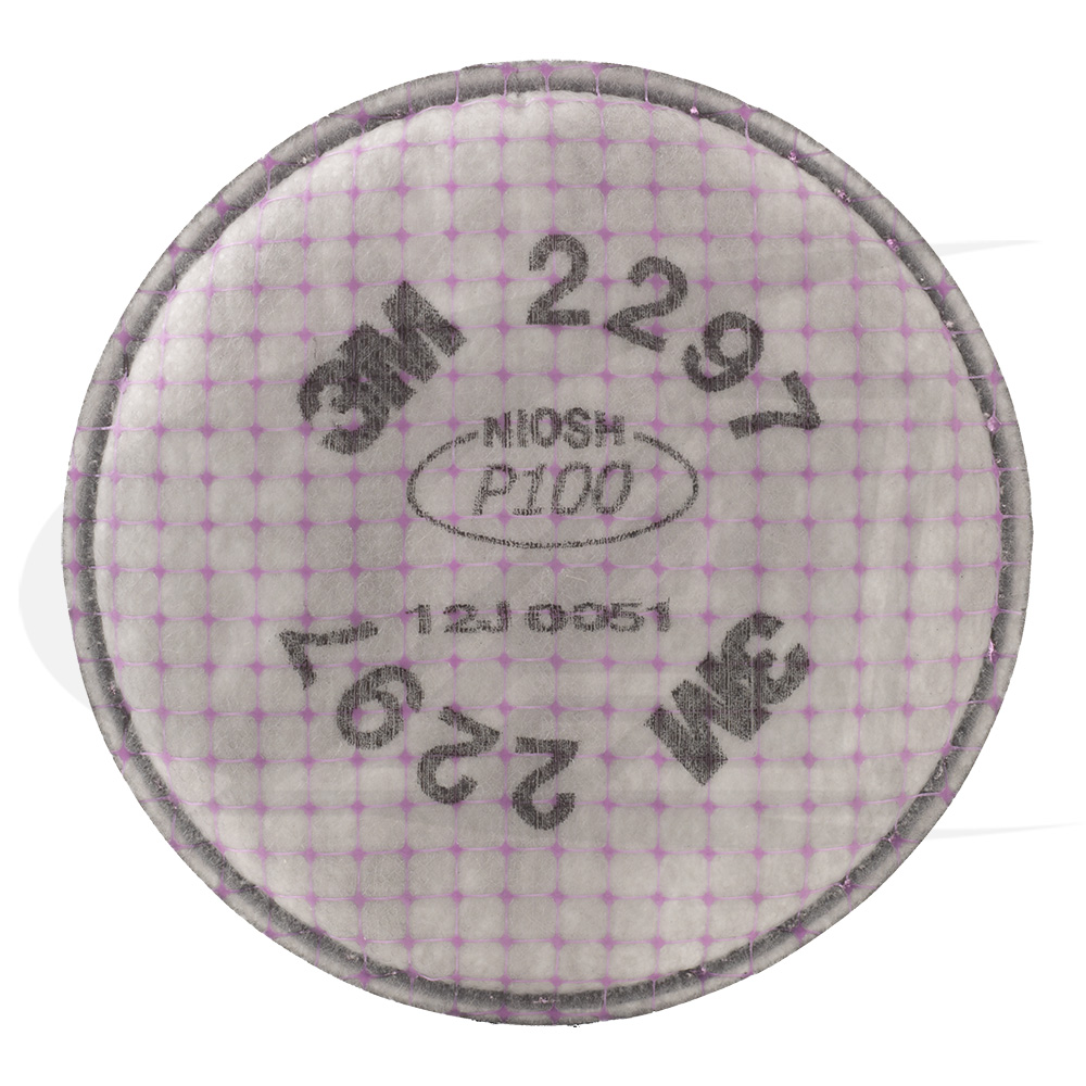 Large Image: Particulate Filter 2297, P100 W/ Nuisance Level Organic Vapor