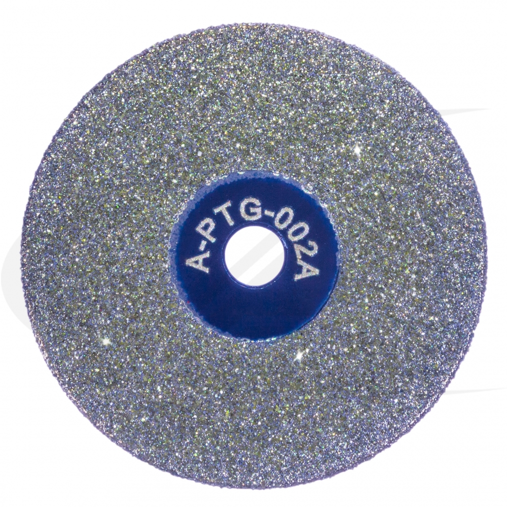Large Image: NEW - Sharpie™ Medium Grit Diamond Wheel (Blue Arbor Hole)