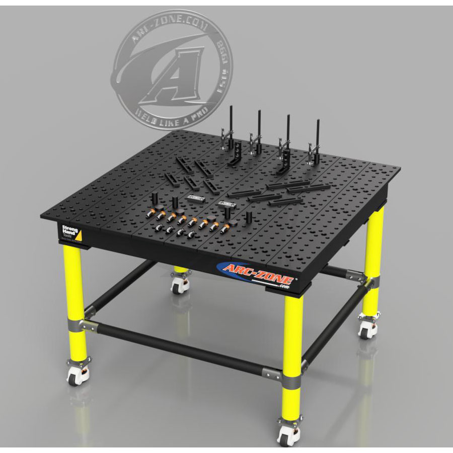 Large Image: --SALE-- Save $750.00 on Weld Table BUNDLE - Free Shipping!