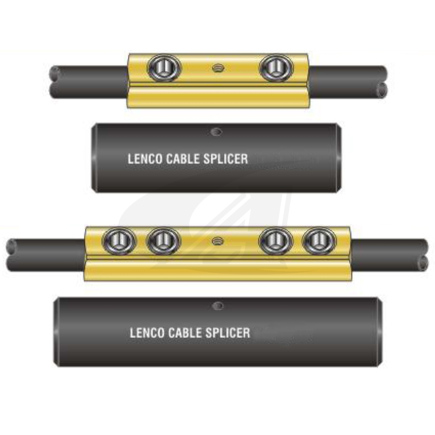 Large Image: Heavy-Duty Screw-On Cable Splicers