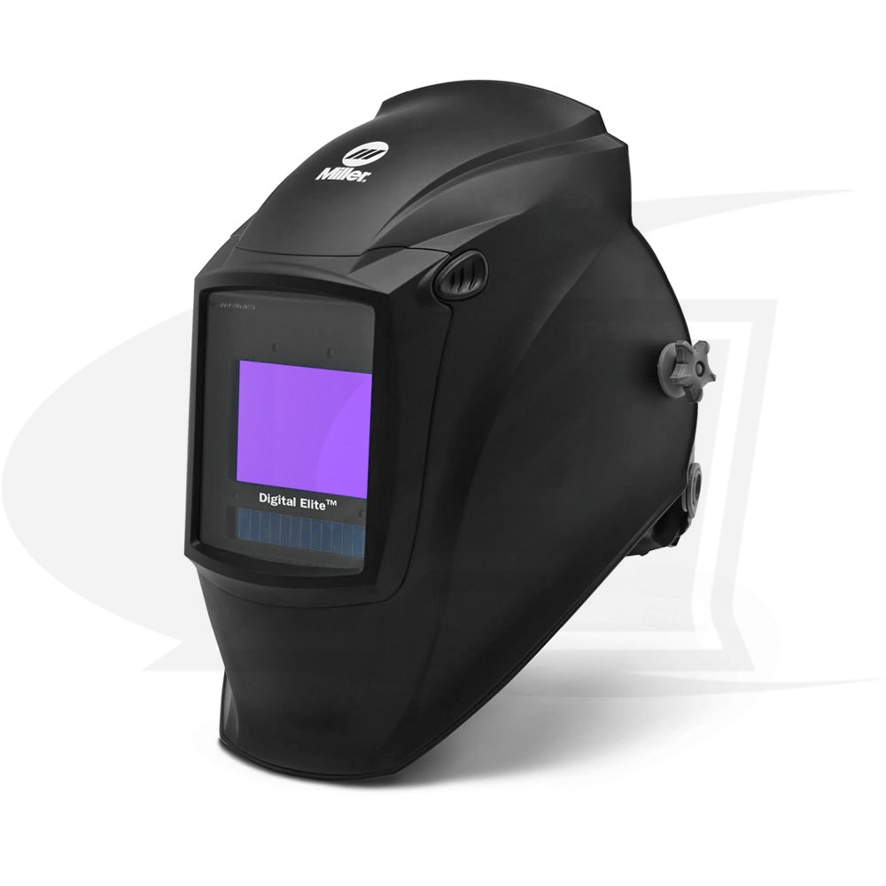 Large Image: Digital Elite Black Auto-Darkening Welding Helmet