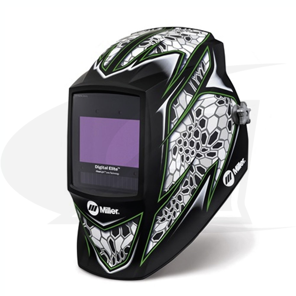 Large Image: Digital Elite Raptor Auto-Darkening Welding Helmet