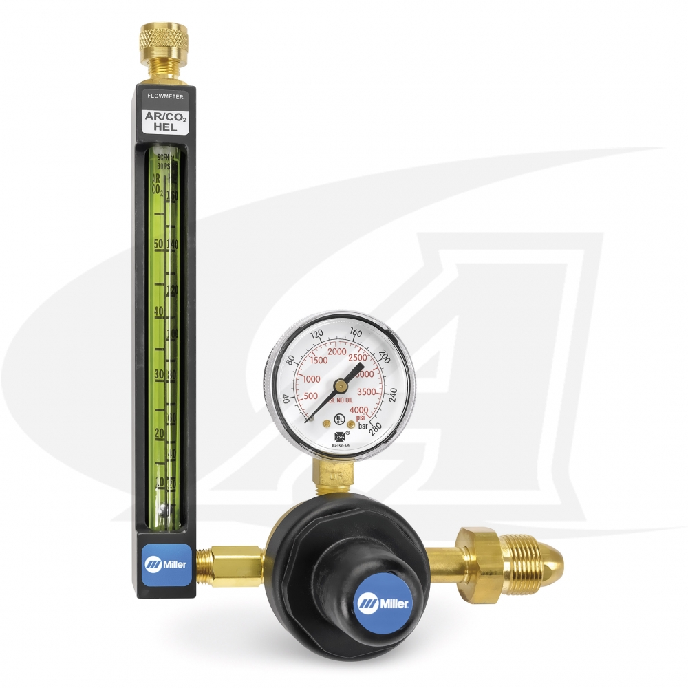 Large Image: Smith® Precision Series Flowmeter/Regulator, All Gas