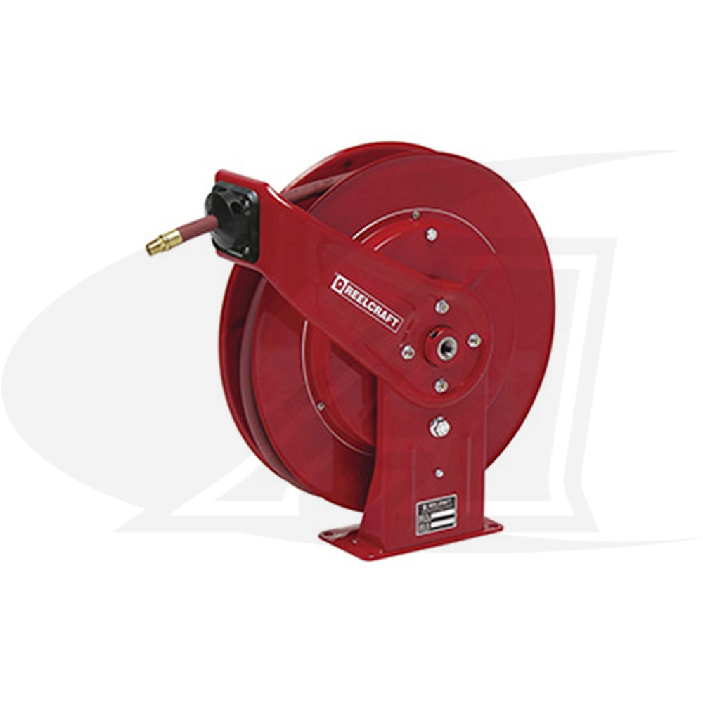 Large Image: Series DP7000-Reelcraft 7850 OLP121 Spring Retractable Hose Reel