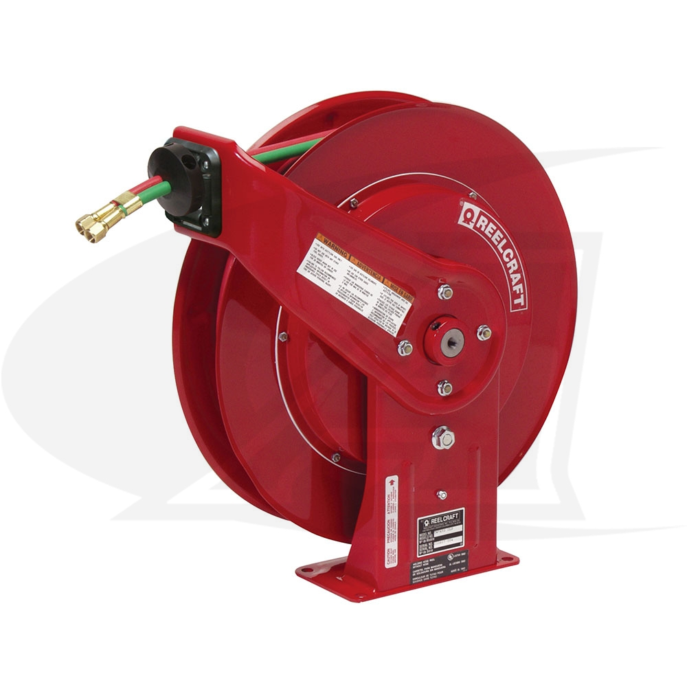 Large Image: Series TW Gas Welding Spring Retractable Reels- Oxy/Acet Only
