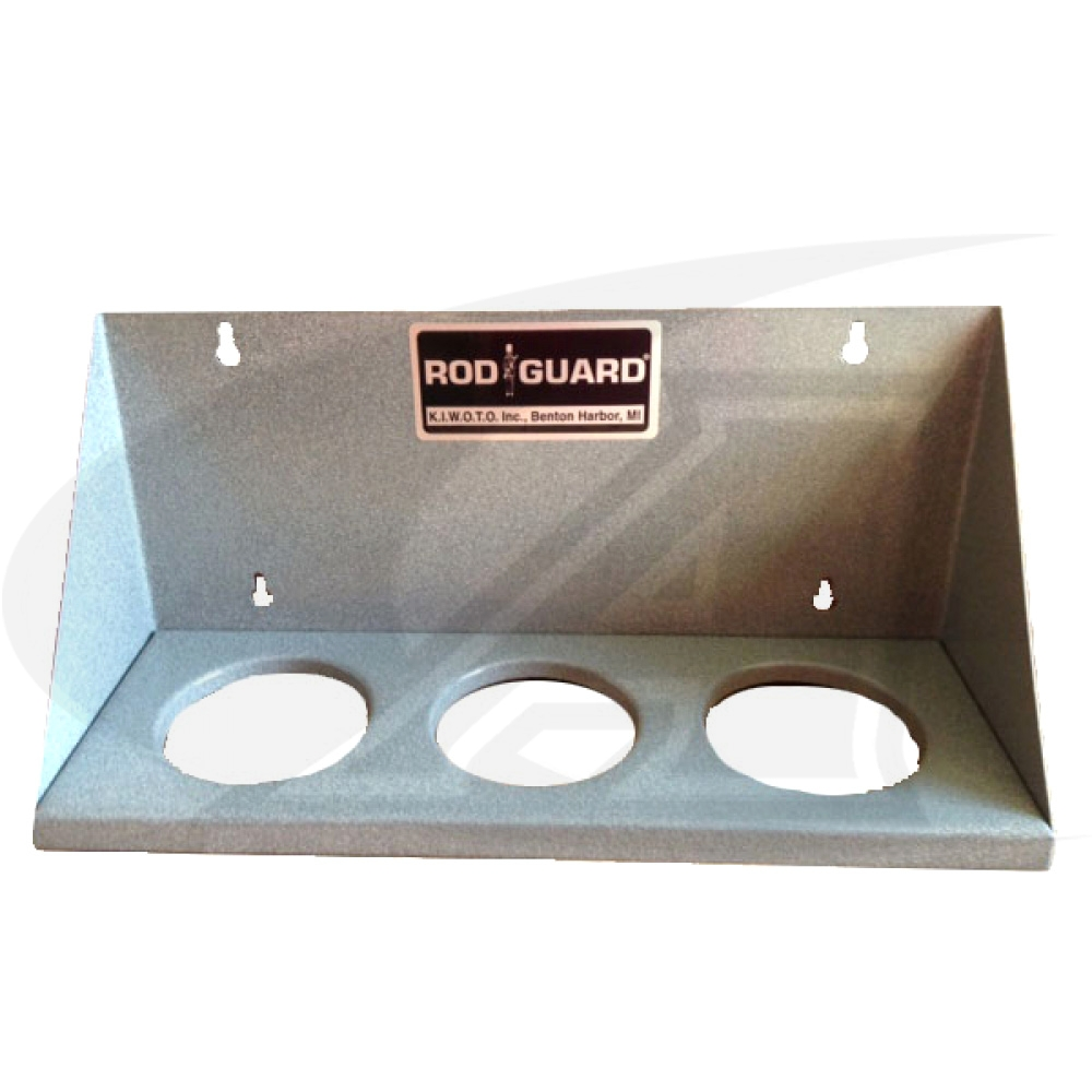 Large Image: Rod Guard® Wall Mount Rack for 14\