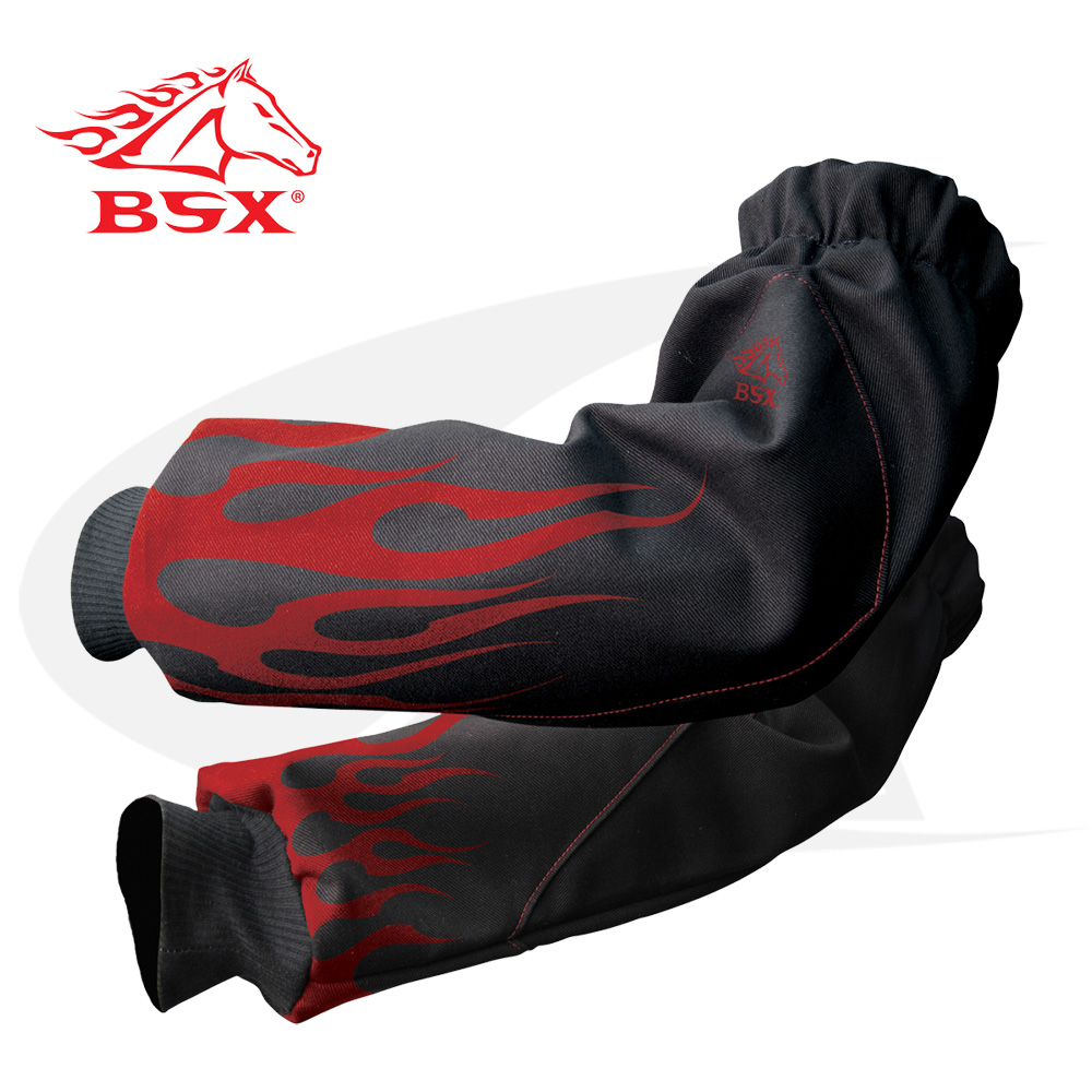 Large Image: BSX Xtreme Fire Resistant Welding Sleeves