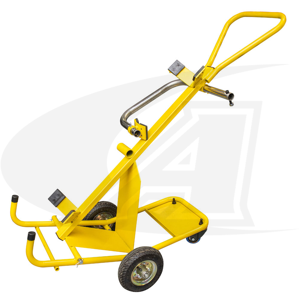 Large Image: Next-Gen Lift & Place Gas Cylinder Safety Cart