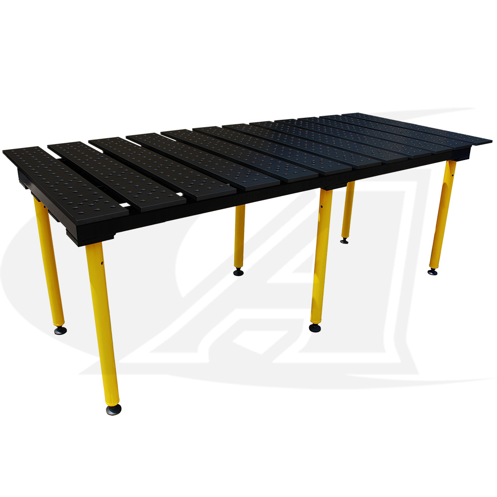 Buildpro 8 2 4m Welding Table Nitride Finish