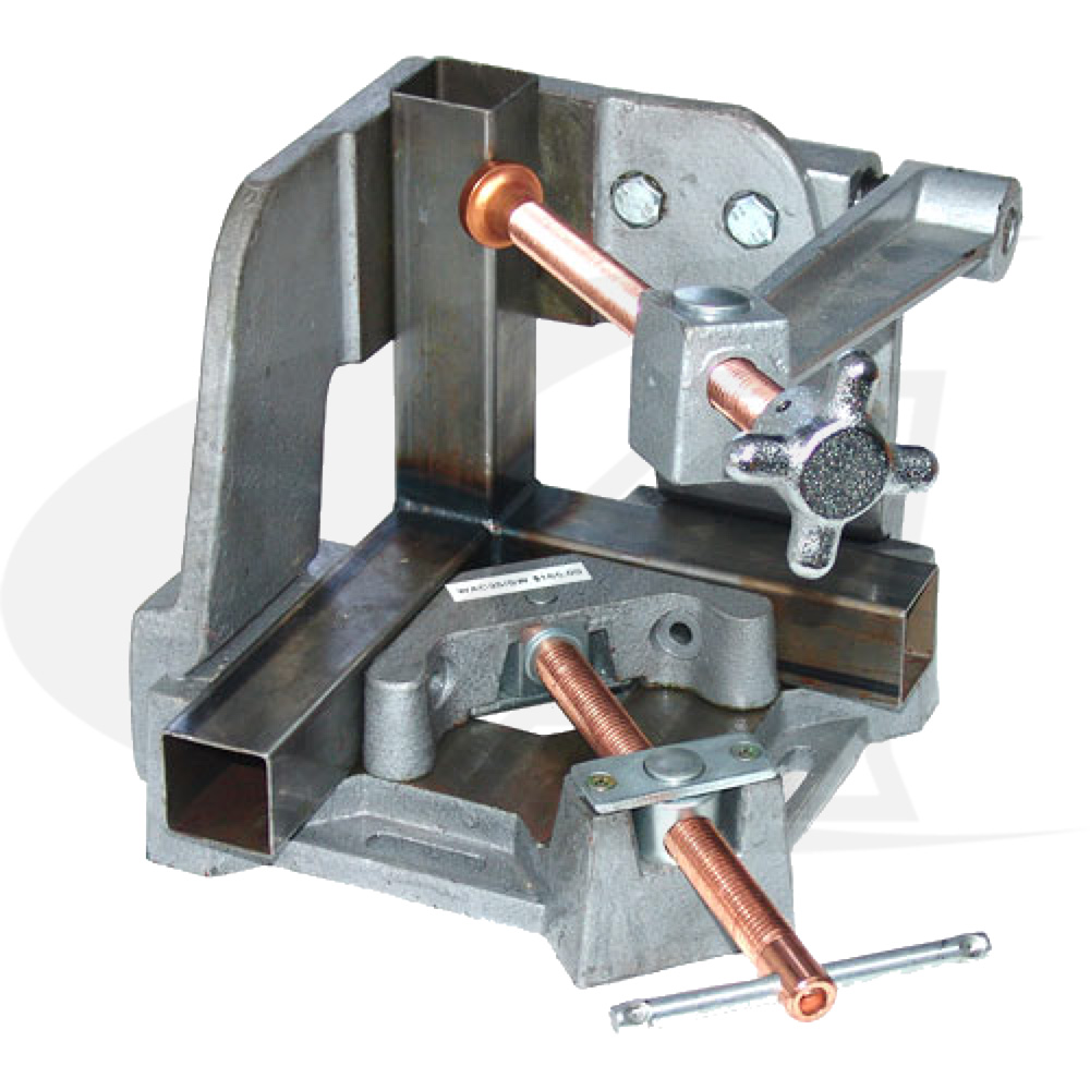 Large Image: 3-Axis Welders Angle Clamp