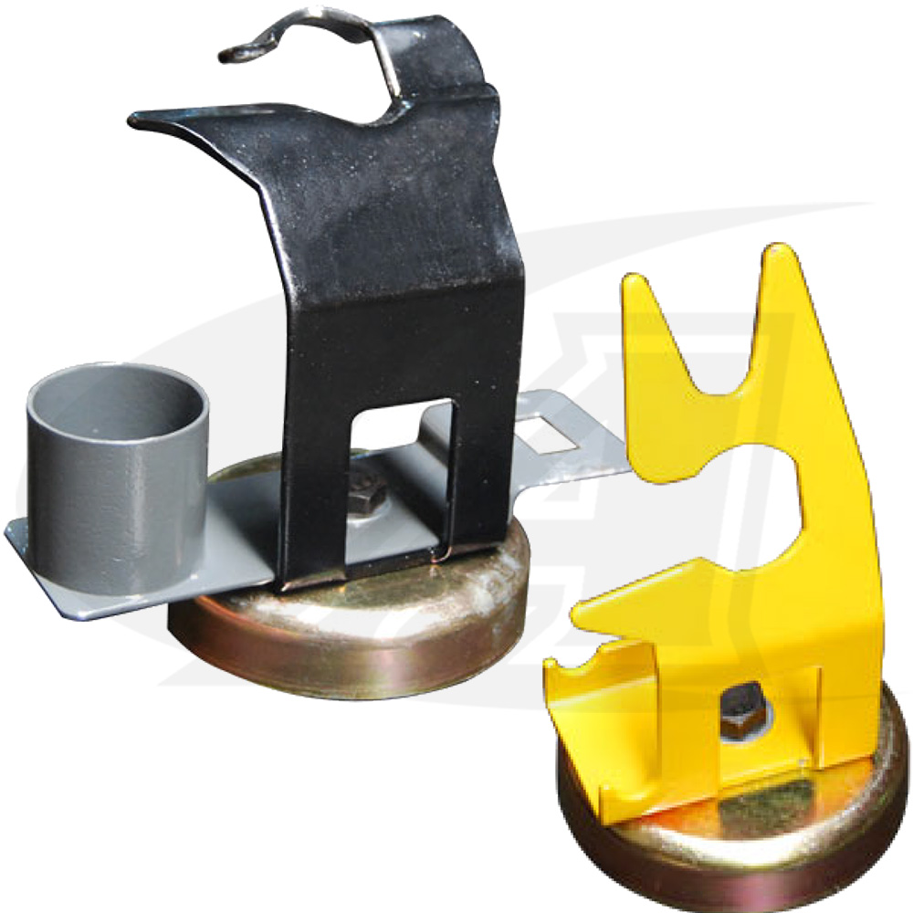 Large Image: Magnetic Torch Holders for MIG Guns or TIG Torches