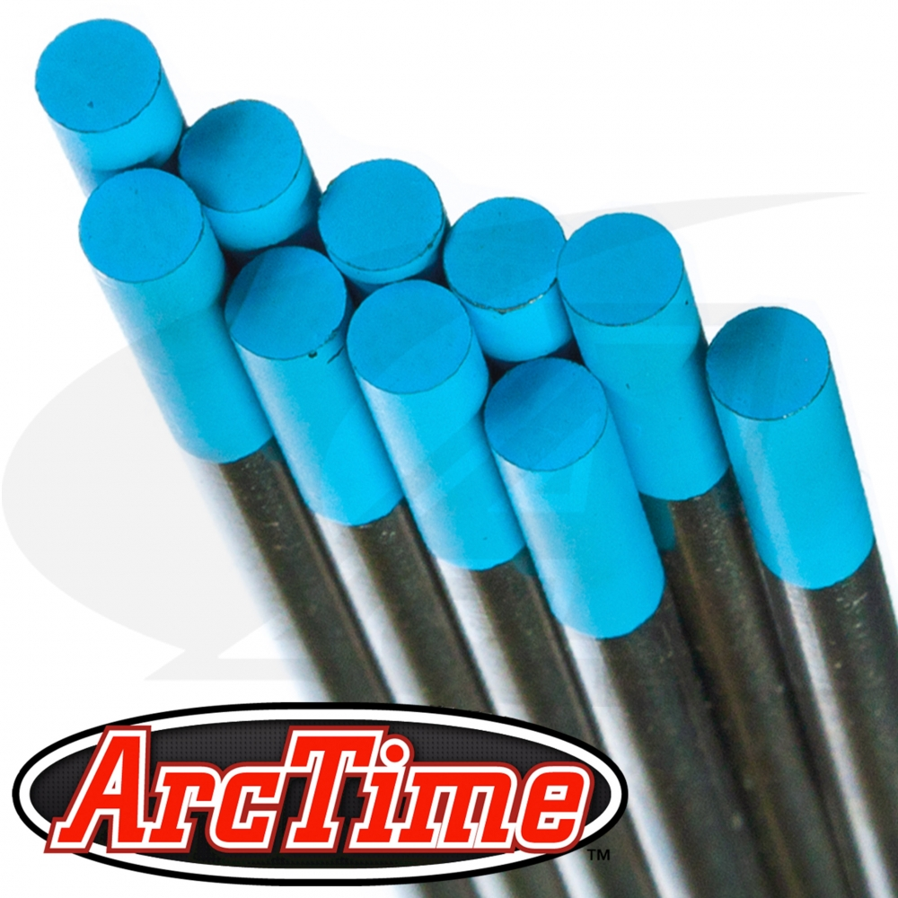 ArcTime hybrid tungsten electrodes