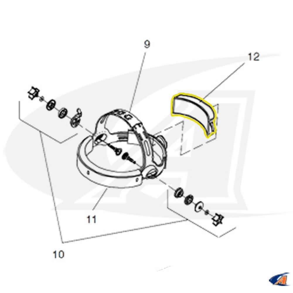 Foam Comfort Cushion for Miller Welding Helmet Head Gear [MIL-216336] -  $7.19 : Arc-Zone.com, The Welding Accessory Experts