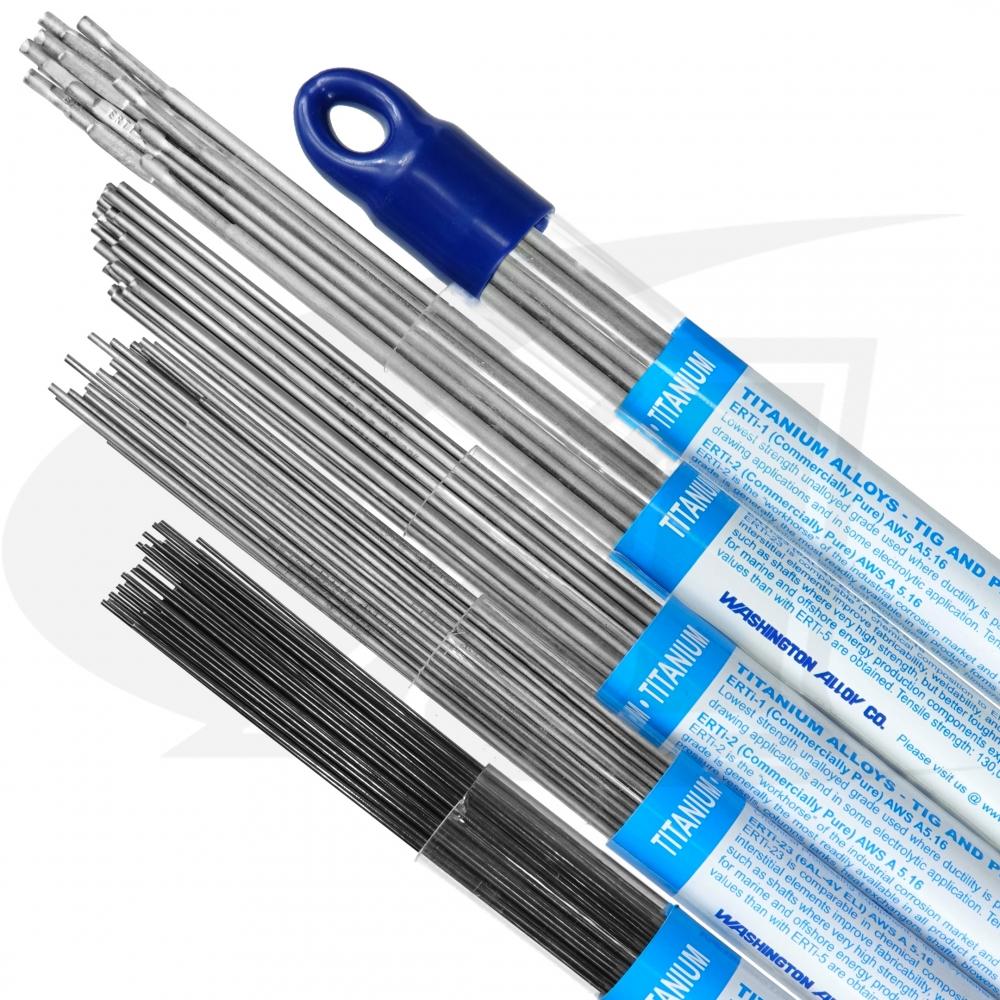 ERTi-2 - Titanium Alloy TIG Welding Rod - 1lb. Pack