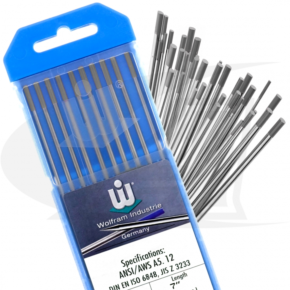 3.2mm tungstens 10 x 2/% ceriated grey tig tungsten electrodes sizes 1.0mm