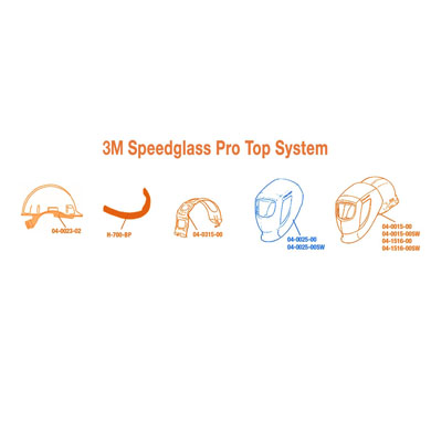 Click to see larger version of 3M Speedglas ProTop Welding Hood with Pivot Mechanism