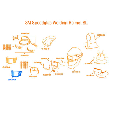 3M Speedglas Outside Protection Plate SL, Standard