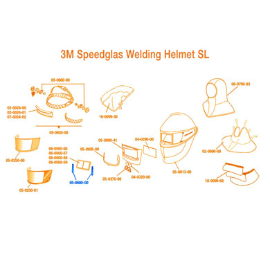 Click to see larger version of 3M Speedglas Magnifying Lens Holder SL