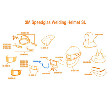 Click to see larger version of 3M Speedglas Spatter Protector SL