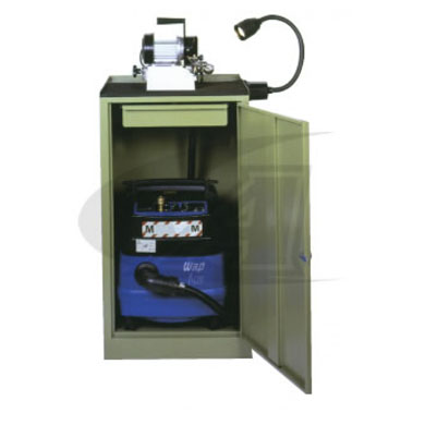Click to see larger version of Vacuum Dust Collection Unit with Hepa Filter for TIG 10/175