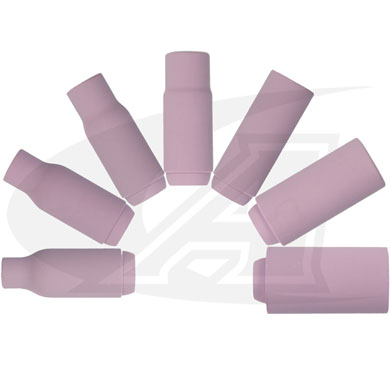 Click to see larger version of Standard Alumina Nozzles For 17/18/26 (3-Series) TIG Torches