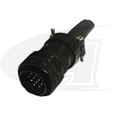 Click to see larger version of Miller Style 14 Pin Connector, Male Plug with 14 Pins