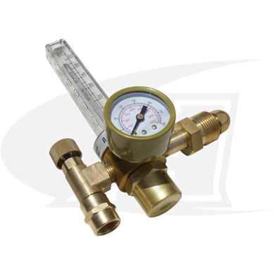 Click to see larger version of Low-Cost Argon Flowmeter