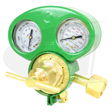 Click to see larger version of Premium Series Oxygen Regulator - Medium/Heavy Duty