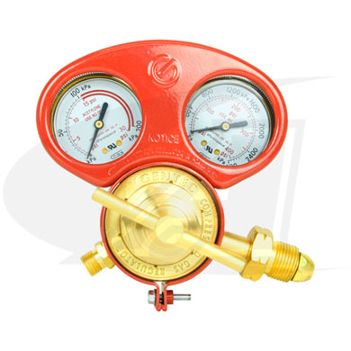 Click to see larger version of Premium Series Acetylene Regulator - Medium/Heavy Duty
