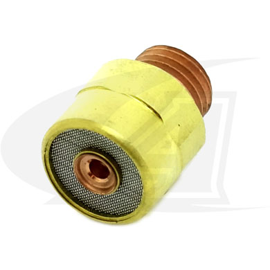 "Click to see larger version of 3/32"" (2.4mm) Gas Lens Collet Body"