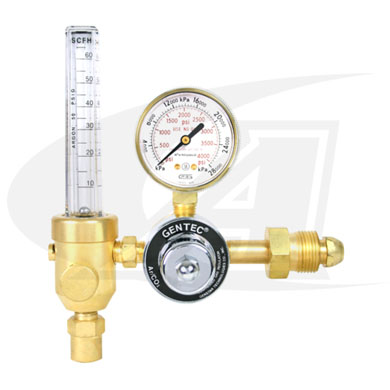 Click to see larger version of Premium Flowmeter/Regulator
