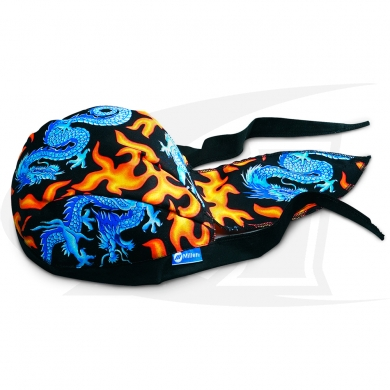 Click to see larger version of Dragon Bandana from Miller\'s Line of Head Threads