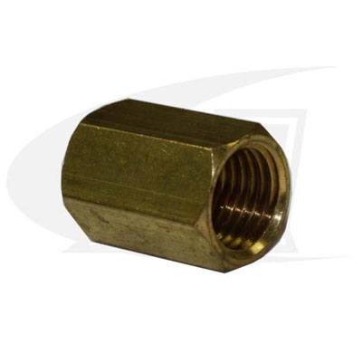 "Click to see larger version of ""A\"" Size Female Coupler, 3/8\"" x 24-to-3/8\"" x 24"