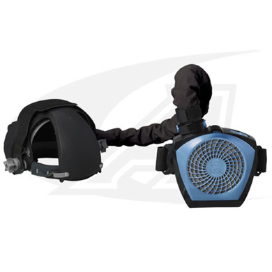 The CoolBelt™ Helmet Cooling System by Miller