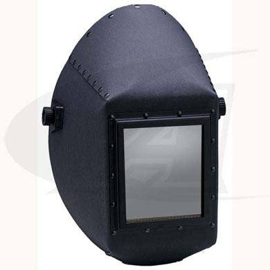 Click to see larger version of W20 451P Big Window Fiber Shell Passive Welding Helmet